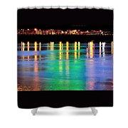 Portland Lights 22971 F Shower Curtain