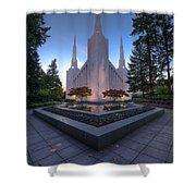Portland Temple Shower Curtain