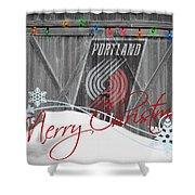Portland Trailblazers Shower Curtain