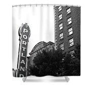 Portlandia Shower Curtain