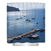 Porto Bay 3 Shower Curtain