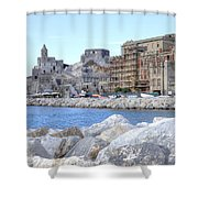 Porto Venere Shower Curtain