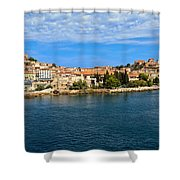 Portoferraio - Elba Island Shower Curtain