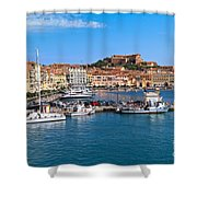 Portoferraio  Shower Curtain