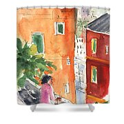 Portofino In Italy 04 Shower Curtain