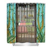 Porton Cerrado Shower Curtain