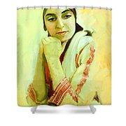 Portrait - Daydream   Shower Curtain