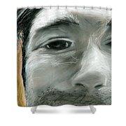 Portrait 10 Shower Curtain