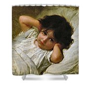 Portrait De Marie-louise  Shower Curtain
