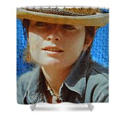 Portrait From The Middle Eightieth Shower Curtain