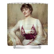 Portrait Of A Countess Shower Curtain