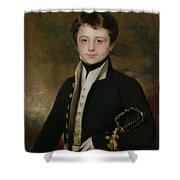 Portrait Of A Midshipman Shower Curtain