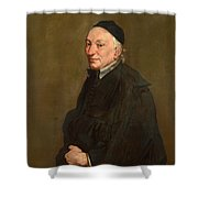 Portrait Of A Priest Shower Curtain