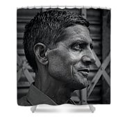 Portrait Of A Stranger Shower Curtain