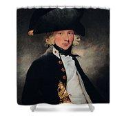 Portrait Of A Young Midshipman, C.1796 Shower Curtain