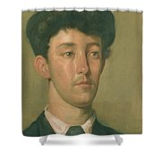 Portrait Of A Youth Shower Curtain