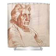 Portrait Of An Old Lady, 1938 Shower Curtain