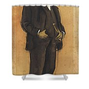 Portrait Of Arcadi Mas I Fondevila Shower Curtain