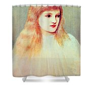Portrait Of Cecily Horner, 1895 Shower Curtain