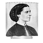 Portrait Of Clara Barton Shower Curtain