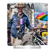 Portrait Of Doctor Luv In New Orleans Shower Curtain