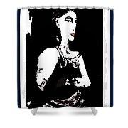 Portrait Of Drina Shower Curtain