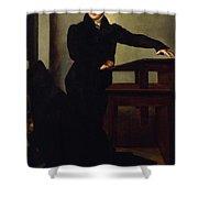 Portrait Of Eduard Gans 1829 Shower Curtain