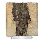Portrait Of Enric Morera Shower Curtain
