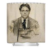 Portrait Of Eugeni D'ors Shower Curtain