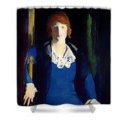 Portrait Of Florence Pierce Shower Curtain