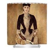 Portrait Of Isabella Reisser Shower Curtain