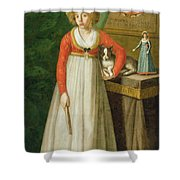 Portrait Of Isidore, 1810 Shower Curtain