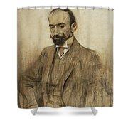 Portrait Of Jacinto Benavente Shower Curtain