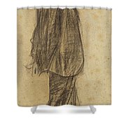 Portrait Of Joan Gay  Shower Curtain