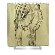 Portrait Of Ludovic Halevy Shower Curtain