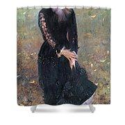 Portrait Of Madame Edouard Pailleron Shower Curtain