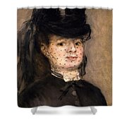Portrait Of Madame Paul Darras Shower Curtain