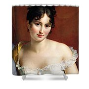 Portrait Of Madame Recamier  Shower Curtain
