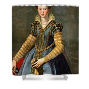 Portrait Of Maria De Medici Or Eleonora Di Garzia Di Toledo Shower Curtain