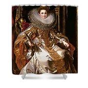 Portrait Of Maria Serra Pallavicino Shower Curtain