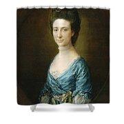 Portrait Of Mrs Clement Tudway Shower Curtain