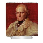 Portrait Of Stratford Canning 1786-1880, Viscount Stratford De Redcliffe 1856-7 Oil On Canvas Shower Curtain