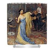 Portrait Of The Dancer Anna Pawlowa Shower Curtain