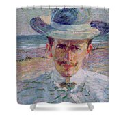 Portrait Of The Lawyer Shower Curtain
