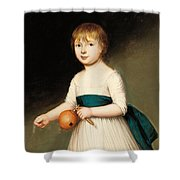 Portrait Of Thomas Allason Shower Curtain