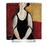 Portrait Of Thora Klinchlowstrom Shower Curtain