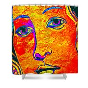 Portrait Of Venus Shower Curtain