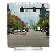 Portraits Of The City 001 Shower Curtain