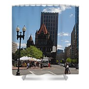 Portraits Of The City 003 Shower Curtain