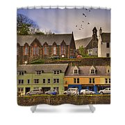 Portree. Isle Of Skye. Scotland Shower Curtain